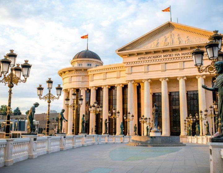 Szkopje városnézés