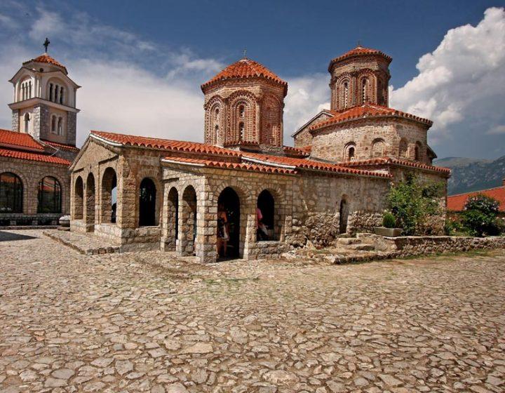 Sveti Naum kolostor látogatása